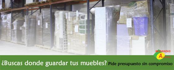 Servicio de guardamuebles en Alicante. Pide tu presupuesto sin compromiso.