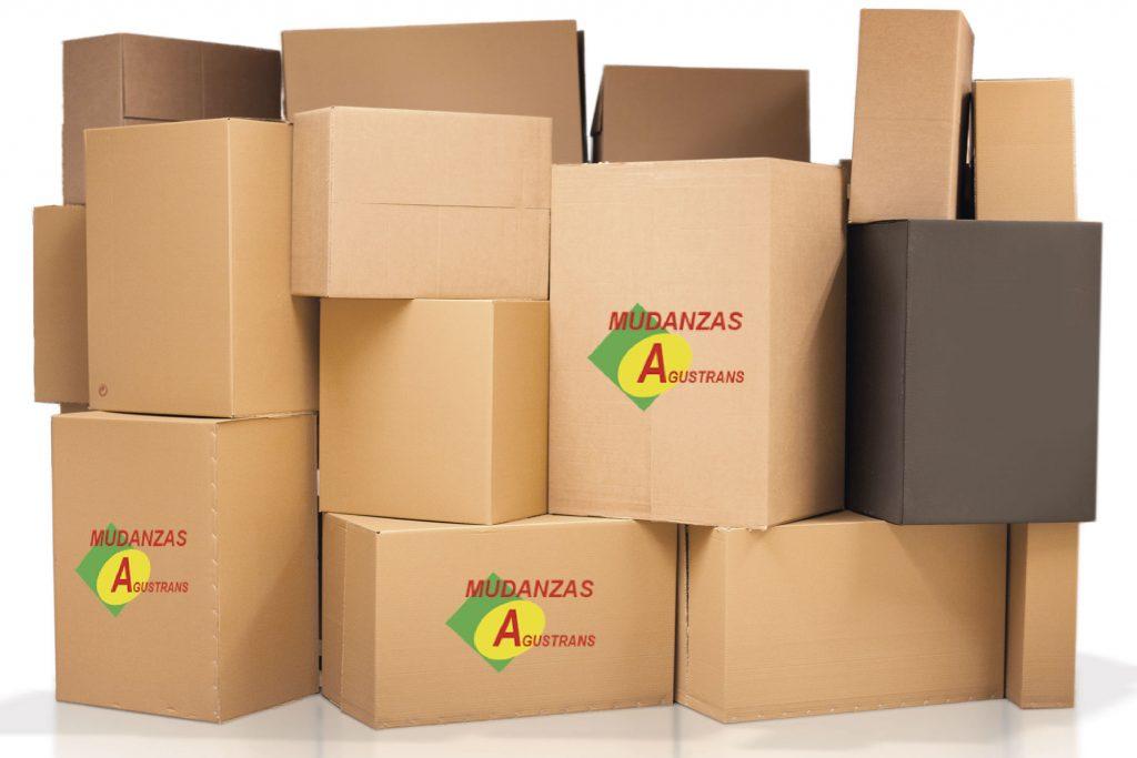 Cajas de cartón para una mudanza