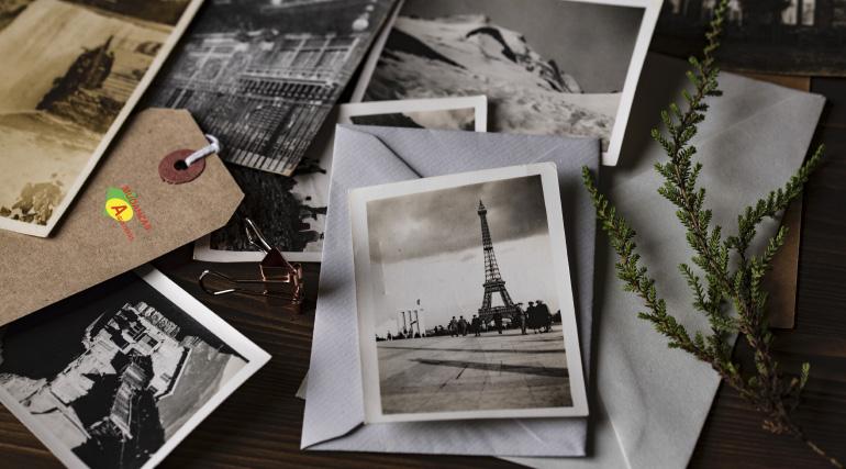 Guardar fotos en un guardamuebles