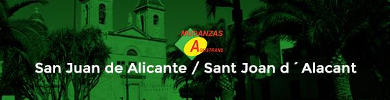 Servicio de mudanzas en San Juan de Alicante / Sant Joan d´Alacant
