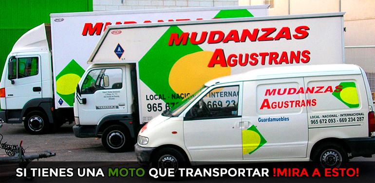 Ventajas de transportar motos con Agustrans.