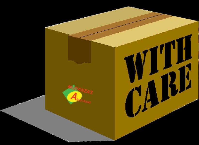 Caja donde empaquetar electrodomésticos.